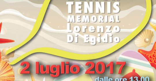 5° TORNEO BEACH TENNIS MEMORIAL – Lorenzo Di Egidio