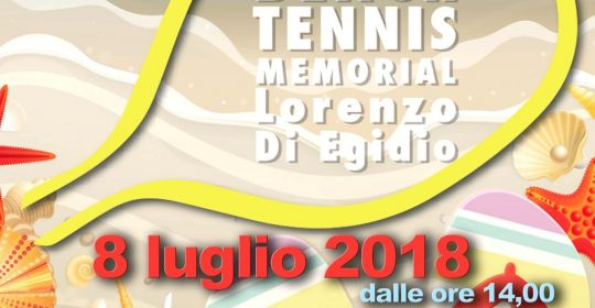 6° Torneo Beach Tennis Memorial Lorenzo Di Egidio